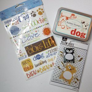 Other - 3/$15 - Dog Themed Crafting Bundle